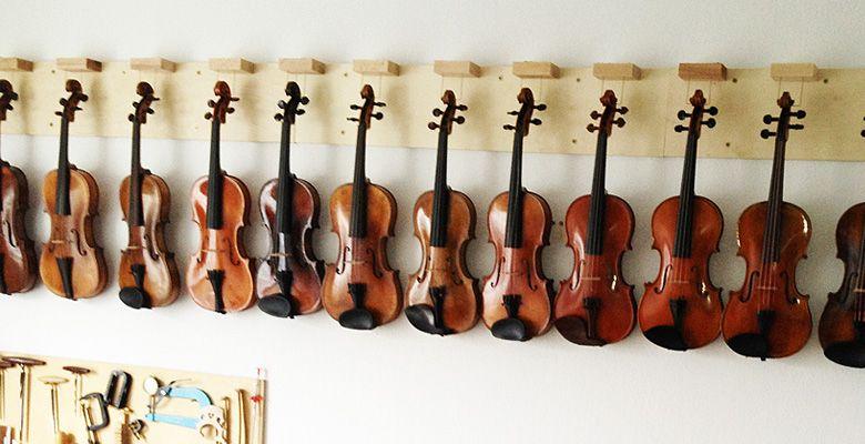Eva Lämmle Geigenbau - Alte und neue Instrumente