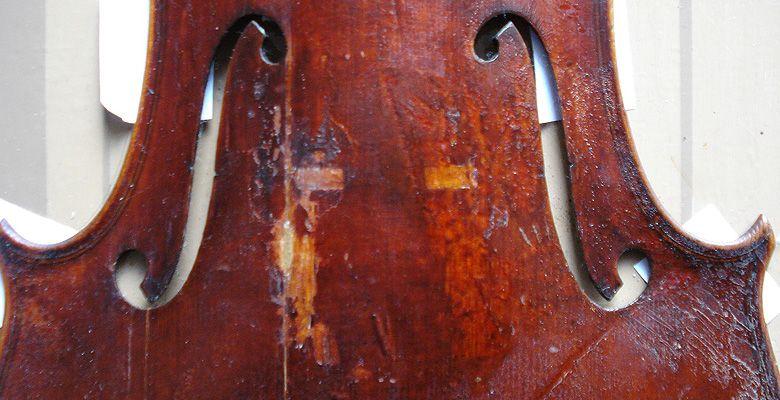 Eva Lämmle Geigenbau - Restauration eines Dachbodenfundes