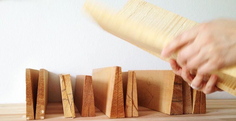 Klangholz zum Bau hochwertiger Instrumente