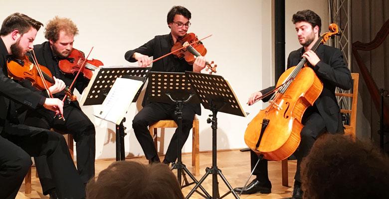 Goldmund Quartett Eröffnungskonzert