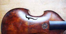 Ausschnitt einer Barock Viola d'amore